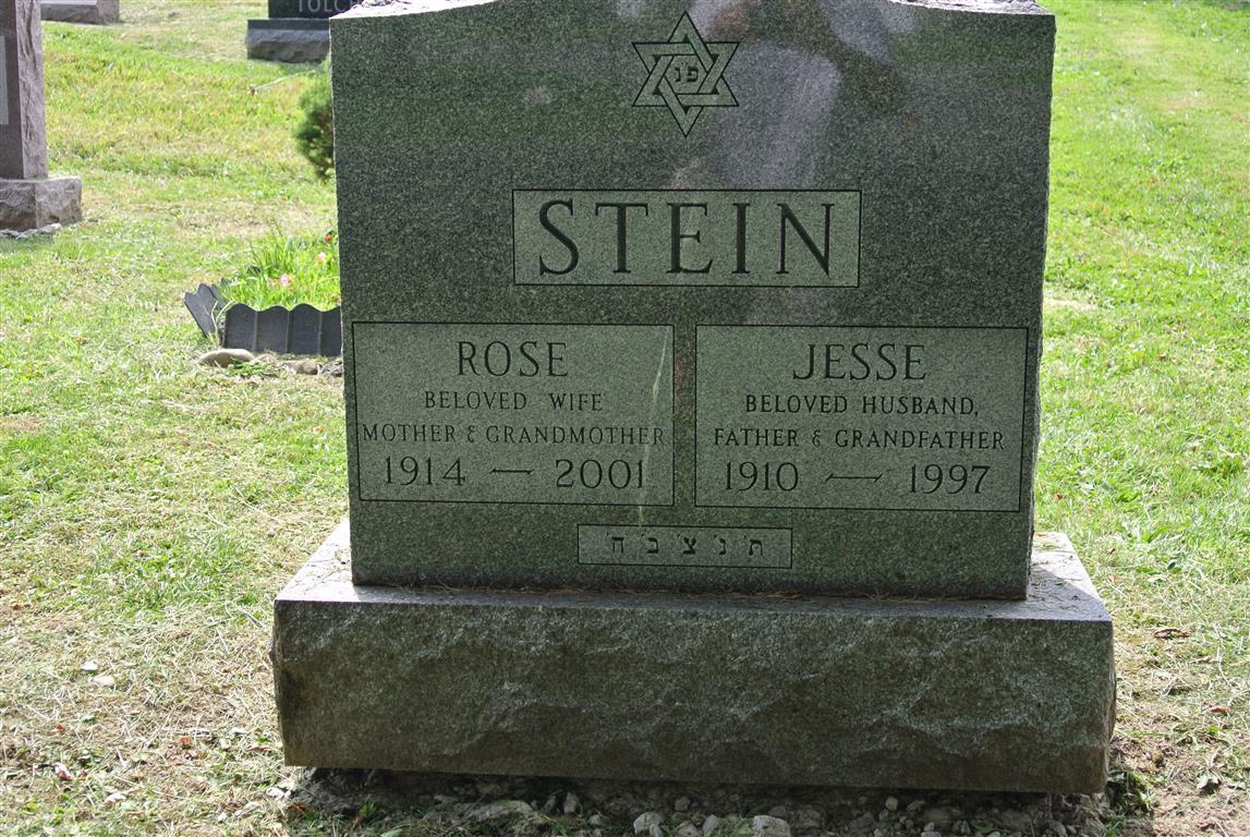 Stein Rose: Frumah Packard Cemetery